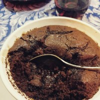 Stout and chocolate pudding