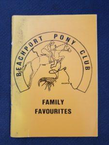 Beachport Pony Club Family Favourites cookbook