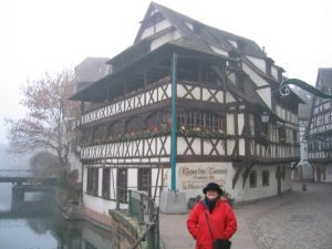 Cathryn in Strasbourg