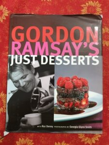 Gordon Ramsays Just Desserts cookbook